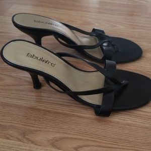 Fabulaire strappy sandal with heel sz 8.5
